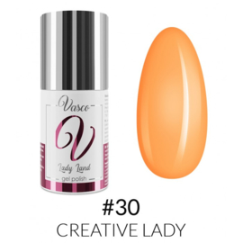 Vasco Gel Polish 030 Creative Lady  6ml - Lady Land
