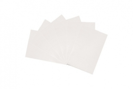 Table towels white 100 st.
