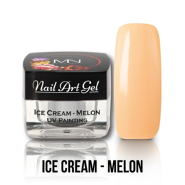 UV Painting Nail Art Gel - Ice Cream - Melon 4g