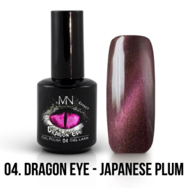 Gel Polish Dragon Eye Effect 04 - Japanese Plum 12 ml