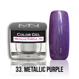 Color Gel 33 - Metallic Purple