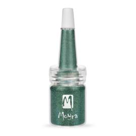 Moyra Glitter in Flesje 10 - Green