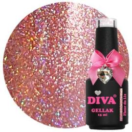 Diva Gellak Holo Fleur De Lis 15ml