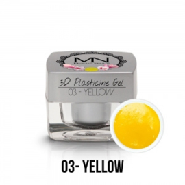 3D Plasticine Gel - 03 - Yellow