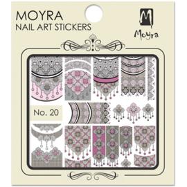 Moyra Nail Art Sticker Waterfransfer No. 20
