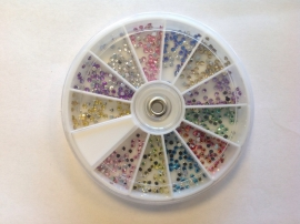Strass color ab 2 mm