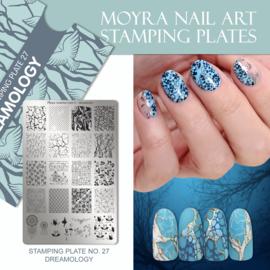 Moyra Stamping Plate 27 - Dreamology