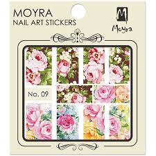 Moyra Nail Art Sticker Watertransfer No. 09
