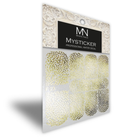 Mysticker F23 gold
