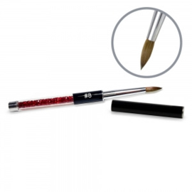 Kolinsky Black Glamour Sculpting Brush #8