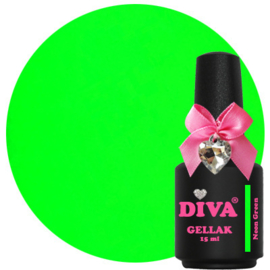 Diva Gellak Neon Green 15ml
