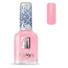 Moyra Stamping Nail Polish sp19 - Light Pink