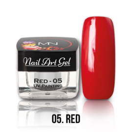 UV Painting Nail Art Gel - 05 - Red 4g