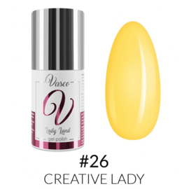 Vasco Gel Polish 026 Creative Lady  6ml - Lady Land