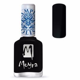 Moyra Stamping Nail Polish sp06 - Black