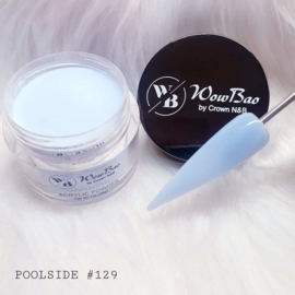 129 Poolside WowBao Acrylic Powder - 28g
