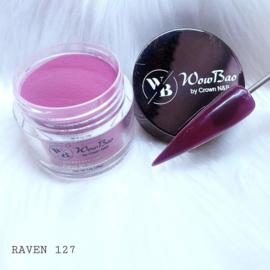 127 Raven WowBao Acrylic Powder - 28g