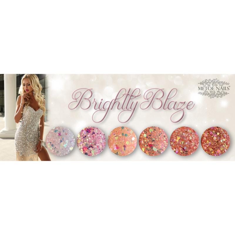 Diamondline Brightly Blaze Collection - 6 delig