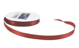 Satijnband 10mm Rood