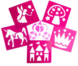 Sjablonen Prinses