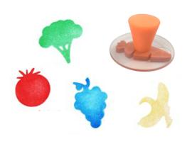 XL Stempels Fruit en Groente