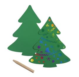 Kraskaart Kerstboom