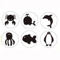 XL Stempels Zeebeestjes