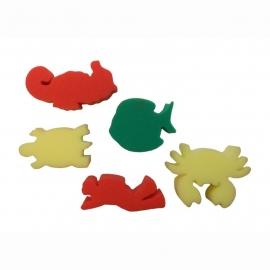 Sponsstempels Zeebeestjes