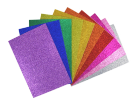 Glitter Rubberfoam