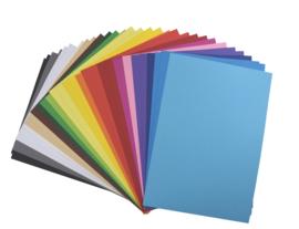 Gekleurd Karton Gemengd 180gr
