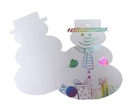 Kraskaart Sneeuwpop