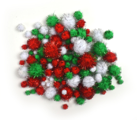 Pompom Kerst