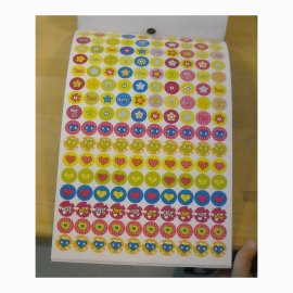 Smiley Stickerbook