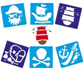 Sjablonen Piraat
