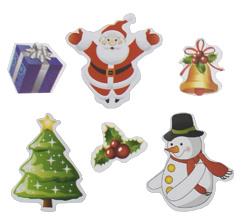2 Stickervellen Kerst