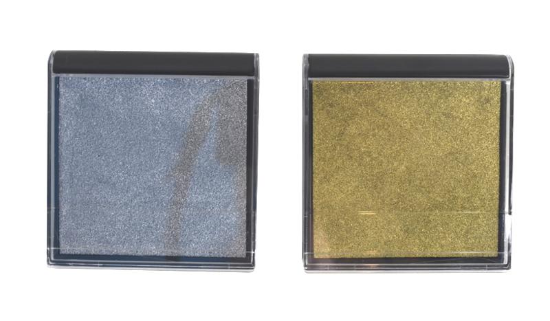 Stempelkussen Goud / Zilver