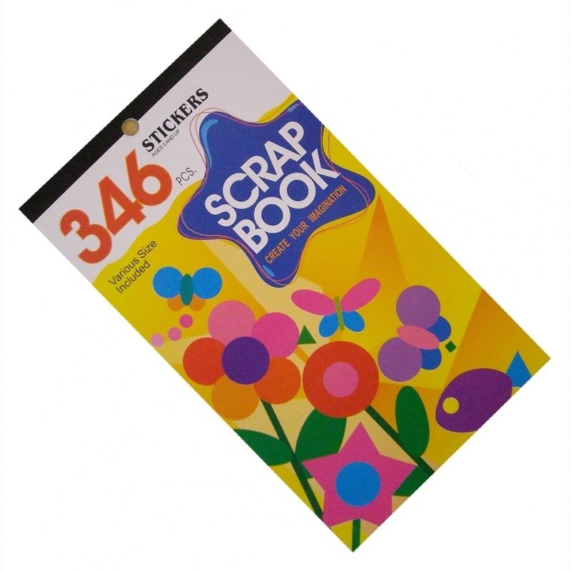 Scrapbook Stickerboek