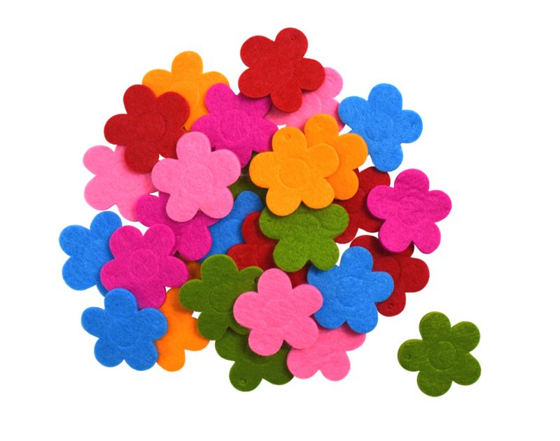 Bloemen van Vilt