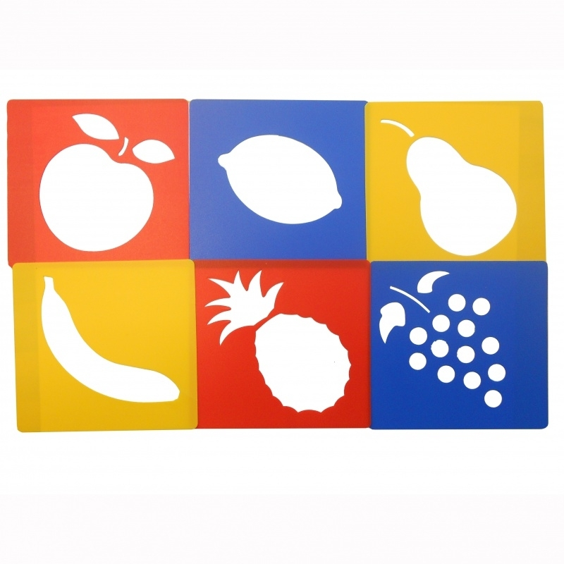 Sjablonen Fruit