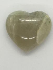 Groen Maansteen Hart I