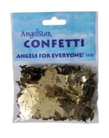 Golden angel confetti