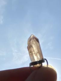 Zilveren hanger van lithiumkwarts 5