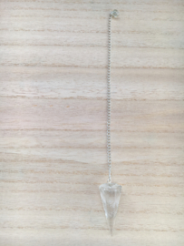 Pendel van bergkristal