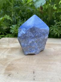 Blauwe Kwarts Geslepen Punt 5 (309 gram)