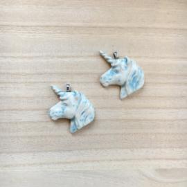 Hangertje Eenhoorn (offwhite blauw)