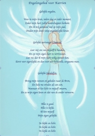 Personalized Angel Prayer
