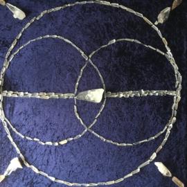 Lemurisch kristal (3-4 cm) met Activering met een Zaadje van Licht
