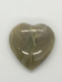Groen Maansteen Hart II
