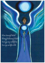 Postkaart Orb aartsengel Michael