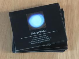 Postcard Orb Archangel Michael